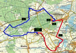 Mapa trasy X MRRR